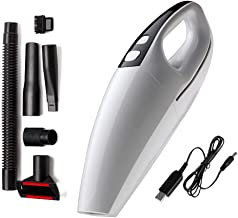 Mini Car Vacuum Cleaner, Handheld Vacuums Cordless 110W / 4000Pa High-Power Powerful Mini Wet and Dry Super Suction for Ca...