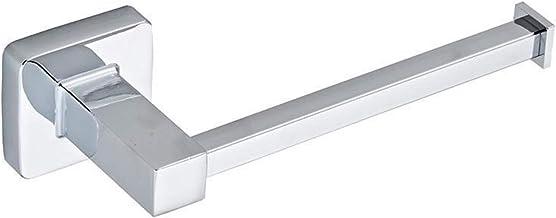 Mirror gepolijst vlak RVS toiletrolhouder gepolijst Coverless badkamer accessoires Wall Mounted Paper Hook