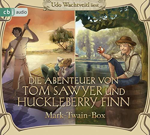 Die Abenteuer von Tom Sawyer und Huckleberry Finn: Mark-Twain-Box (Hörbuch-Klassiker für die ganze Familie, Band 17)