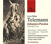 Johannes-Passion Twv 5:34 by PHILIPP TELEMANNGEORG