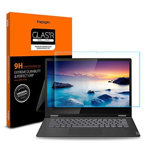Spigen Tempered Glass Screen Protector Designed for ONLY Lenovo Flex 14 (14API / 14IWL) [9H Hardness]