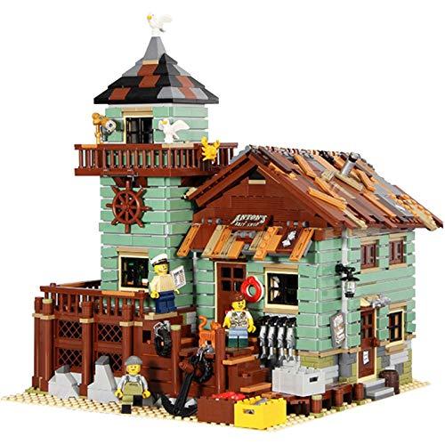 2295 Bloque De Construcción De Partículas Casa Villa, Conjunto De Construcción Creativo Modelo De Casa con Vista A La Calle, Ensamblaje De Bloques De Construcción De Rompecabezas De Juguete