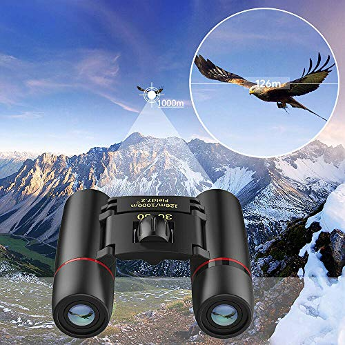 Metermall Home Mini Dag Nachtzicht Verrekijker 30x60Zoom Outdoor Travel Hunt Folding Telescope
