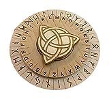 Runes Cipher for Escape Rooms - Decoder Disk - Escape Room Prop
