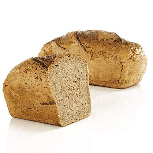 Vestakorn Handwerksbrot, Gersterbrot 1kg - frisches Brot – Natursauerteig, selbst aufbacken in 10 Minuten
