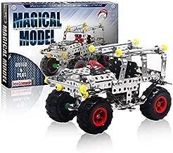 IRON COMMANDER Erector Set for Boys Model Cars Kit to Build Model Cars Adults Model Car Off-Road Erector Set (816B-48)