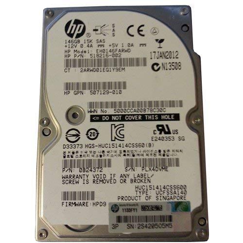 HP 512547-B21 146 GB 15K SAS Disco duro