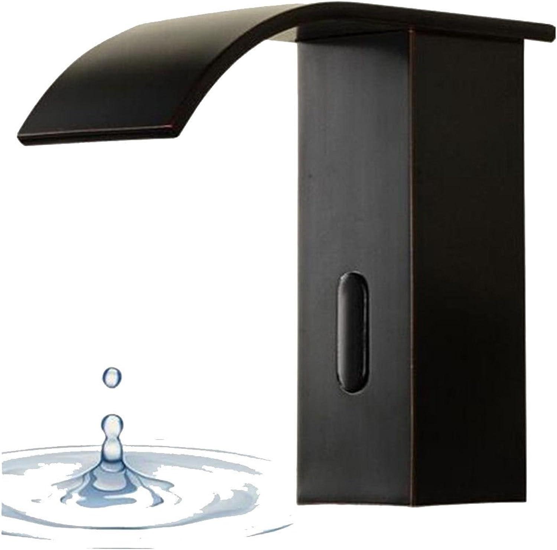 MEIBATH Waschtischarmatur Badezimmer Waschbecken Wasserhahn Küchenarmaturen Schwarz Schwarz l eingerieben Bronze Einzigen Kalten Wasserfall Messing Küchen Wasserhahn Badarmatur