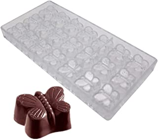 Misterchef ® Professional Policarbonato Chocolate Molde 24 cavidad rectangular Bandeja