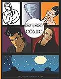 Crea tu propio cómic: 100 hojas (páginas con cuadros vacíos) de cómics en blanco para completar | para adultos, adolescentes y niños | libro de ... | manhwa | manga | Formato de 8.5x11 pulgadas