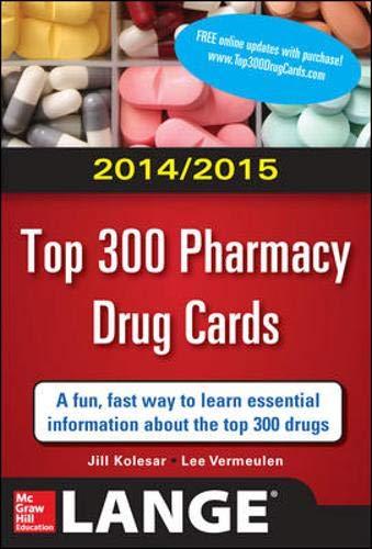 2014-2015 Top 300 Pharmacy Drug Cards