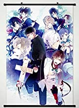 Wall Scroll Poster Fabric Painting For Anime Diabolik Lovers More Blood Key Roles 027 L