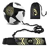BROTOU Fútbol Trainer, Football Trainer Banda,Football Kick Trainer Banda elástica para Entrenamiento de fútbol para Estudiante Niños Adultos (1 Pack)