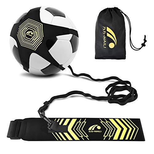 BROTOU Fútbol Trainer  Football Banda Kick elástica para Entrenamiento de para Estudiante