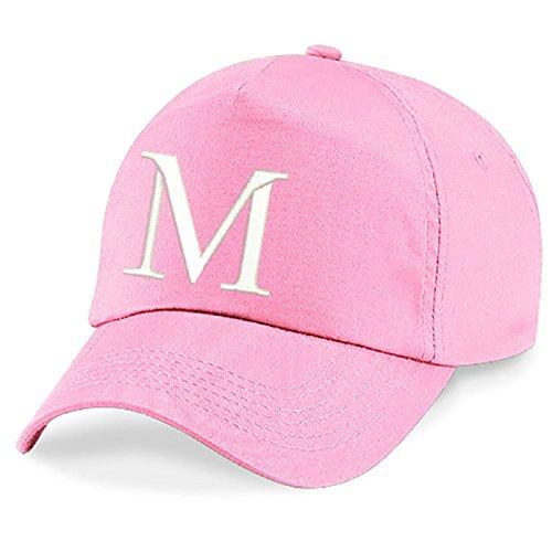 4sold unisex bindmössa babymkeps pojkar flicka mössa baseball cap rosa hatt barn keps alfabet A-Z