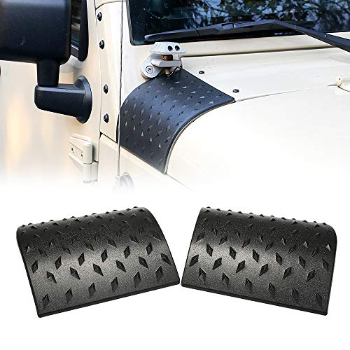 """OKLEAD Cowl Body Armor Outer Cowling Cover Exterior Accessories Part for Jeep Wrangler Rubicon Sahara Jk Unlimited 2007-2018"""""""