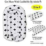 CuddleMe Lounger, Sleeper, Co Sleeping - Perfect for Newborn Baby Shower Registry - Infant and Toddler (Suitable for...