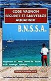 Code Vagnon du secourisme - BNSSA (sauvetage aquatique)
