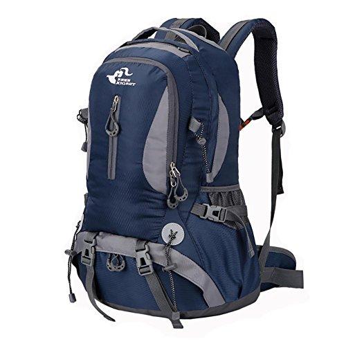 Sacs à dos 40L randonnée en plein air Sac de sport Trekking Voyage Hommes Waterproof Sacs à dos femmes Camping Men , 4