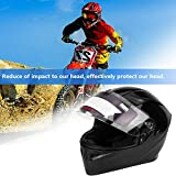 casco da motociclista di sicurezza per adulto, Casco moto uomo Casco moto traspirante anti-shock Cappellini leggeri da cross Collocazione Accessori moto(XL)