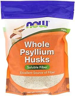 Now Whole Psyllium Husks - 454 gm Powder