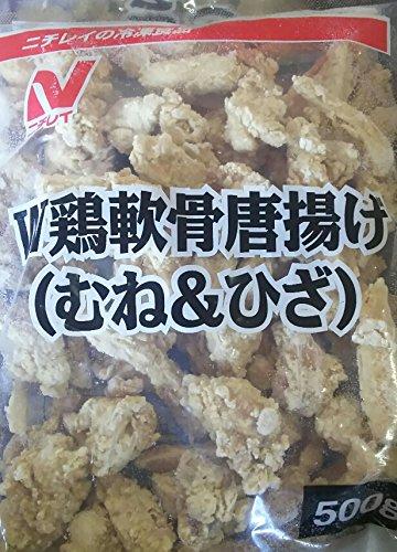 ニチレイ W 鶏軟骨 唐揚げ ( むね&ひざ ) 500g×12P 業務用