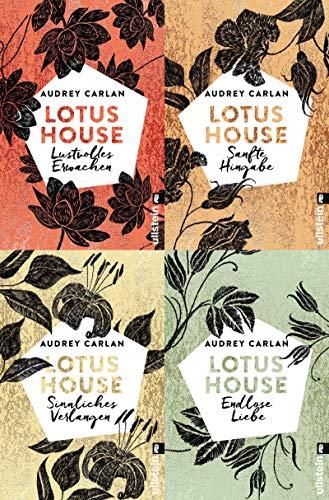 Die Lotus House-Serie Band 1-4 plus 1 exklusives Postkartenset