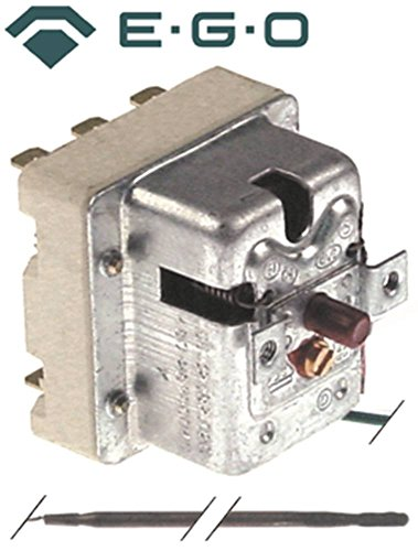 EGO veiligheidsthermostaat 55.32582.020 geschikt voor Küppersbusch, Palux max. Temperatuur 480°C 3-polige sensor ø 4mm x 230mm