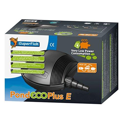 Superfish 676182/2530 SF Teichpumpe Pond Eco Plus -E- 8000-41W (7800 L/h)