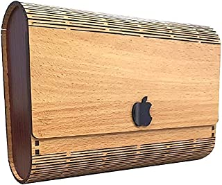 Quasar Women Stylish Ladies Wooden Purse Wallet, Traditional Gift For Friends Multipurpose Use Card Holders Otherwise Phon...