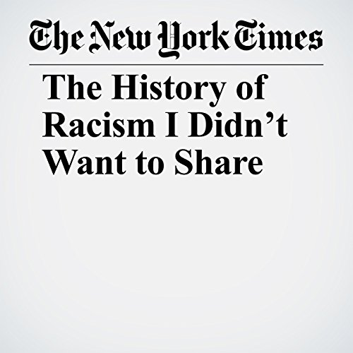 The History of Racism I Didn't Want to Share copertina