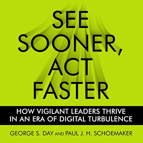 See Sooner, Act Faster audiobook cover art