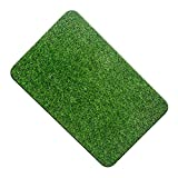NINGWXQ Tapis d'herbe Artificiel Gazon d'herbe de Pelouse,Jardin Micro Paysage Ornement Perfect for Indoor/Outdoor Landscape - Customized (Color : Green 2.0cm, Size : 50X80cm)