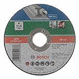 Bosch 2609256315 DIY Trennscheibe Metall 115 mm ø x 2.5 mm gerade