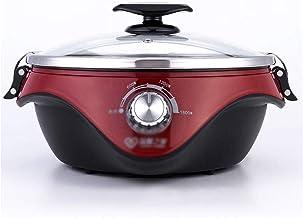 Hot Pot électrique, Hot Pot de Split électrique Hot Pot multifonction grande capacité électrique Cuisinière électrique à v...