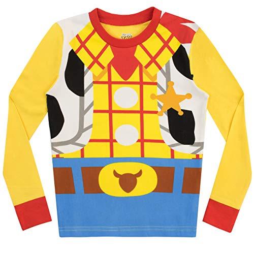 Disney Pijamas para niños 2 Paquetes Ajuste Ceñido Toy Story Multicolor 7-8 Años