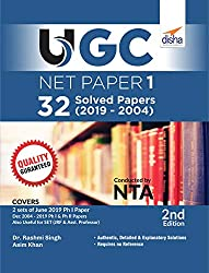 UGC NET Paper 1 – 32 Solved Papers