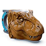 Zak Designs Jurassic World 2 T-Rex Dinosaur Unique 3D Character Sculpted Ceramic Coffee Mug, Collectible Keepsake and Wonderful Coffee Mug (11 oz., T-Rex Dinosaur, BPA-Free)