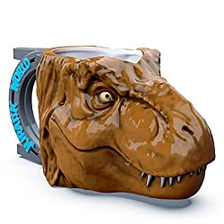 1. Zak Designs Jurassic World 3D T-Rex Coffee Mug