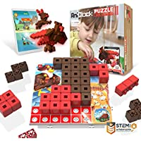 AniBlock Puzzle Challenger II for 4-5 STEM Learning Toys