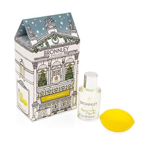 Bronnley Lemon & Neroli Geschenkset (50ml EDT 100g Seife) Christmas Edition