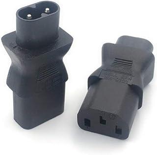 GOUWEI IEC 320 C7 Male to C13 3Pin Female Power Adapter