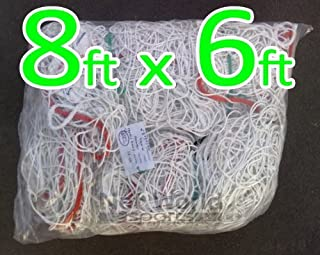 8ft x 6ft Soccer Goal Net **Heavy Duty** [Net World Sports]