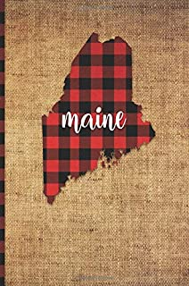 state of maine silhouette