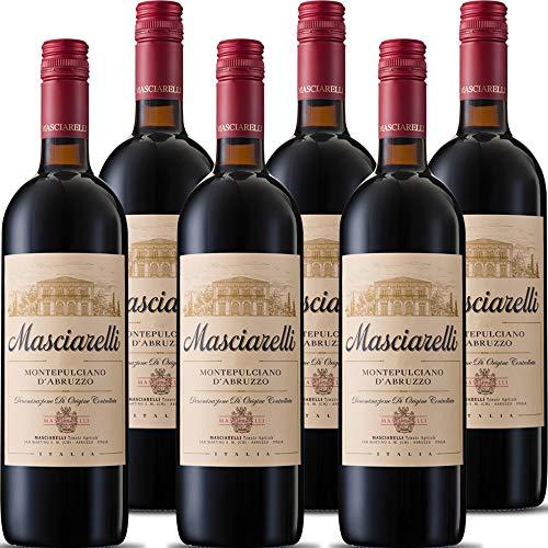 Montepulciano d Abruzzo DOC | Masciarelli | Vino Rosso Classico | 6 Bottiglie 75 Cl | Idea Regalo