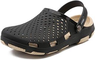 FDSVCSXV Zapatos de Agua para Hombre Zapatos de Agua Antideslizantes Cocina Liviana Cocina al Aire con Ducha Sandalias de ...