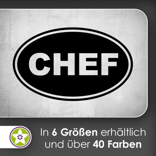 chef Wandtattoo in 6 Größen - Wandaufkleber Wall Sticker
