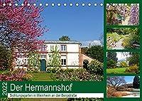 Der Hermannshof Sichtungsgarten in Weinheim an der Bergstrasse (Tischkalender 2022 DIN A5 quer): Der wunderschoene Hermannshof ist gleichzeitig ein Ort wissenschaftlicher Arbeit ueber den Lebensraum von Stauden, aber auch Naturgenuss fuer die vielen Besucher. (Monatskalender, 14 Seiten )