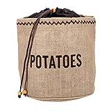 Kitchen Craft Natural Elements Hessian Sac de conservation de pommes de terre avec doublure occultante