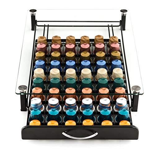Peak Coffee Nespresso Kapselstander 60 80 140 + Multi Kaffeepod Halter Schale